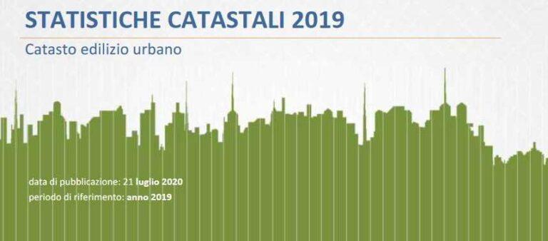 Statistiche catastali 2019 - Agenzia delle Entrate